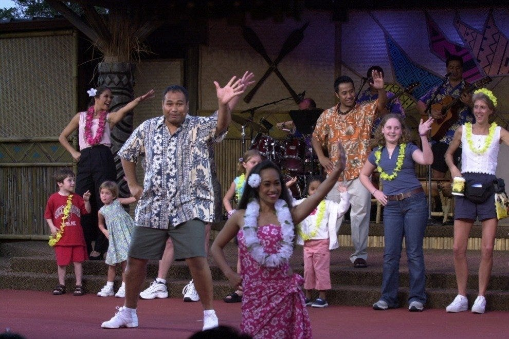 Disney's Spirit of Aloha Dinner Show