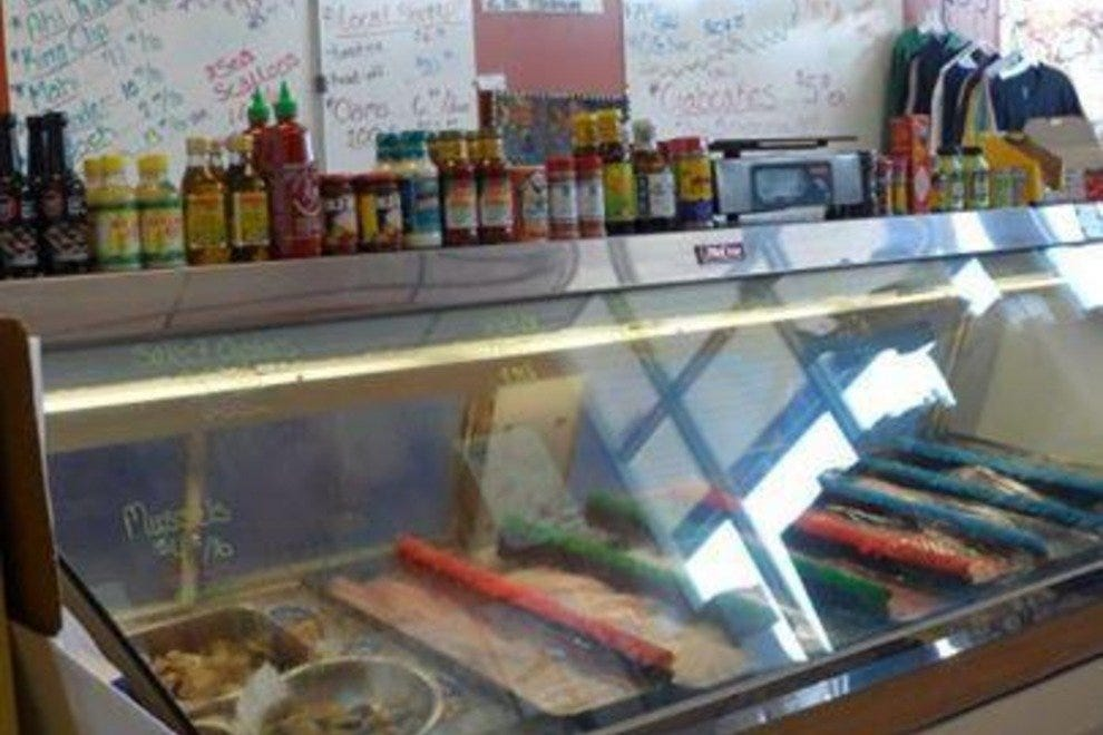 Mr fish seafood market grill myrtle beach restaurants for Mr fish seafood restaurant