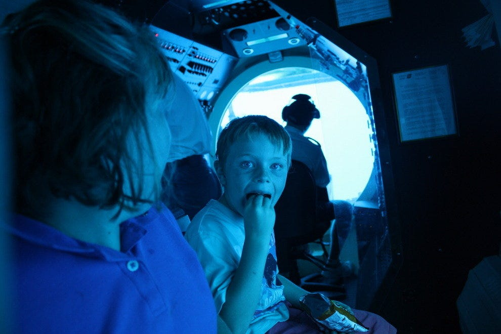 110 Feet under the sea in Hawaii and we have our Cheetos!