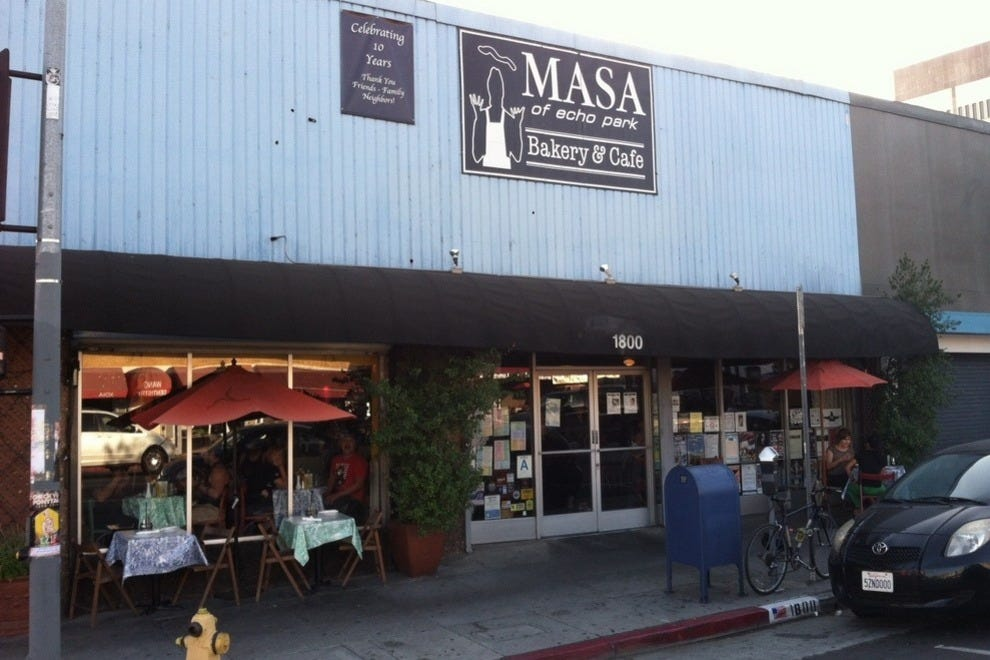 Masa Of Echo Park Bakery Cafe Los Angeles Restaurants