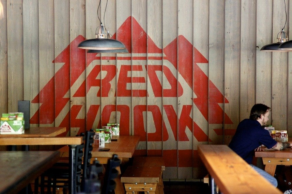 Red Hook appeases hop-happy visitors in the heart of Woodinville's wine hub