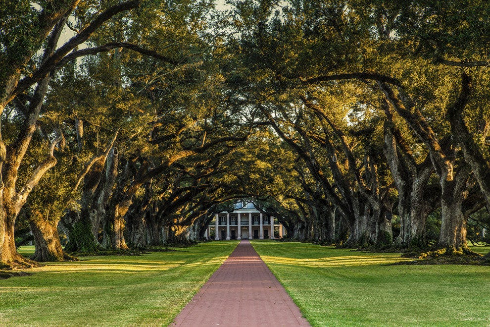 Interview With the Vampire - Oak Alley Plantation, New Orleans