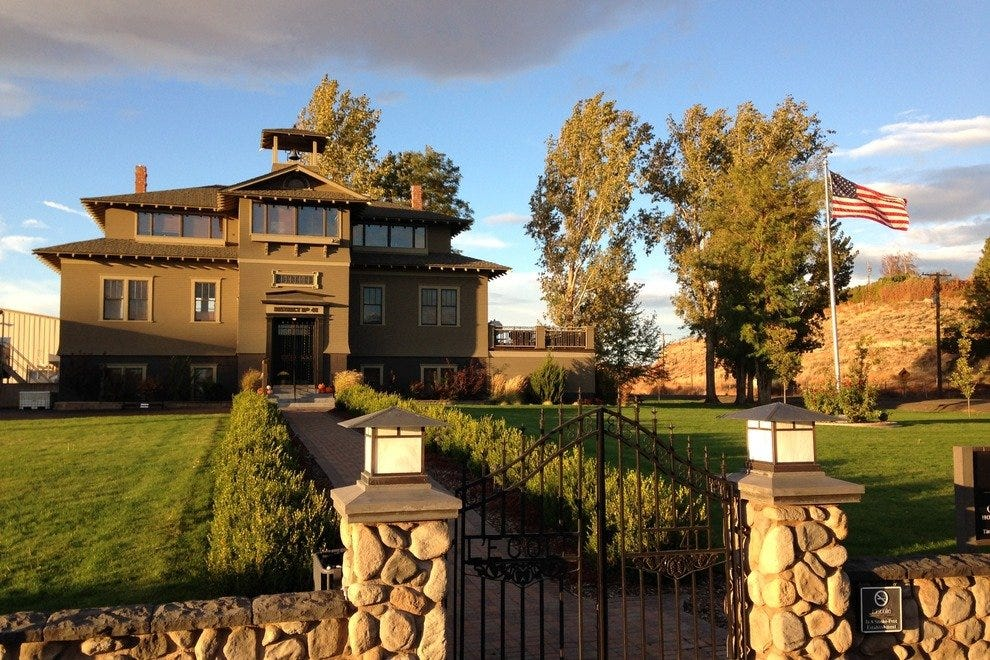 Two of Walla Walla's oldest wineries neighbor one another –L'Ecole No 41 and Woodward Canyon Winery.