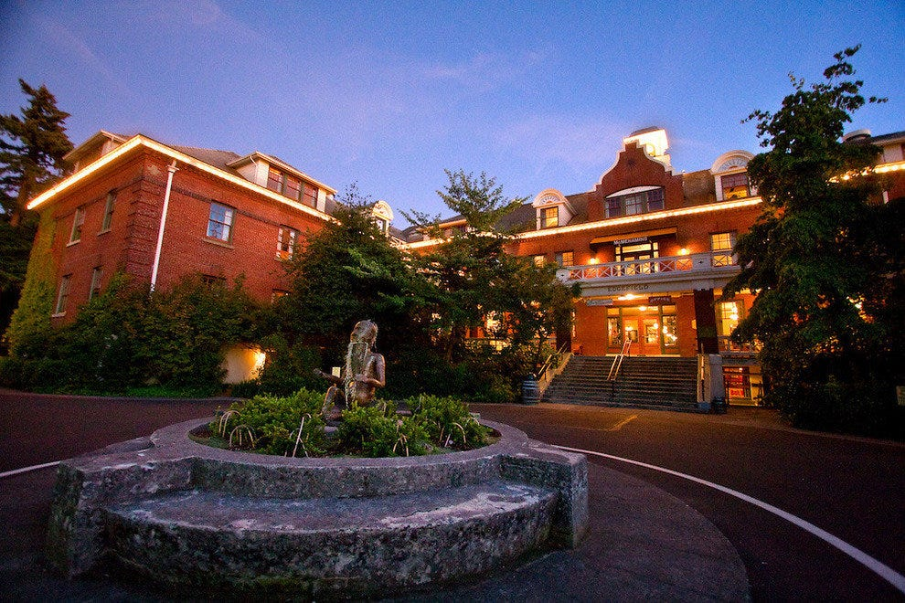 Edgefield is the biggest of the McMenamins properties and boasts the largest brewpub.