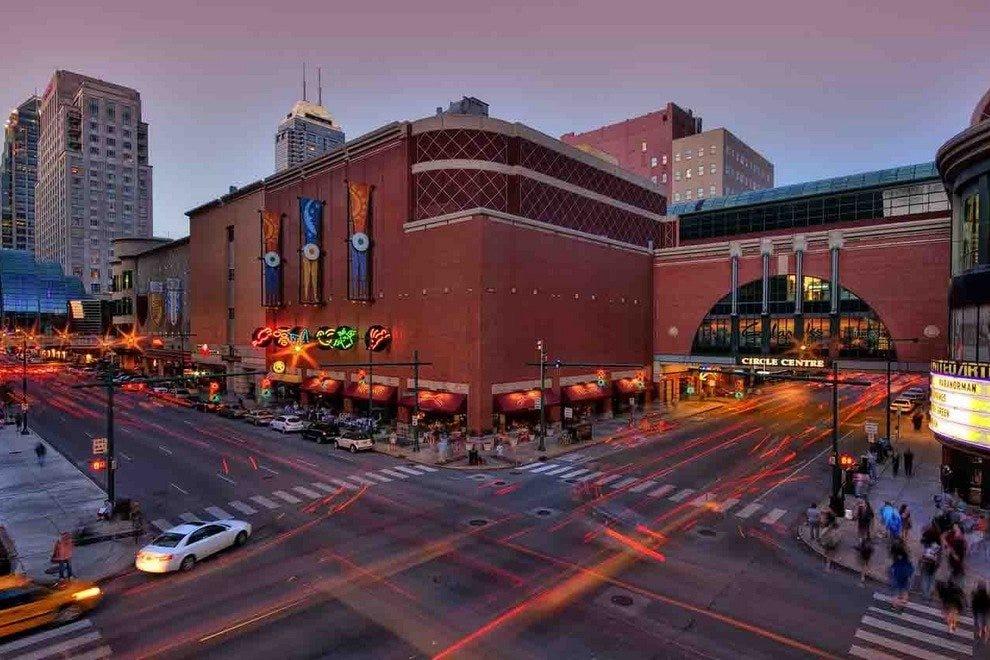 印第安纳波利斯市中心是一个伟大的购物目的地