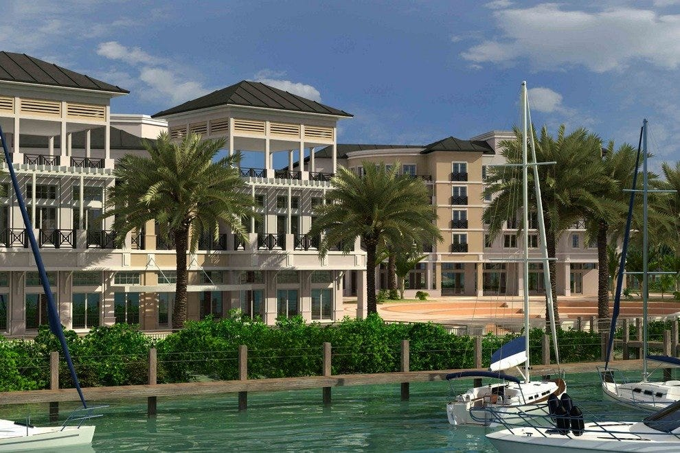 The Wyndham is Harbourside's cornerstone property