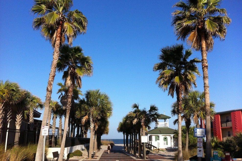 海滩镇中心