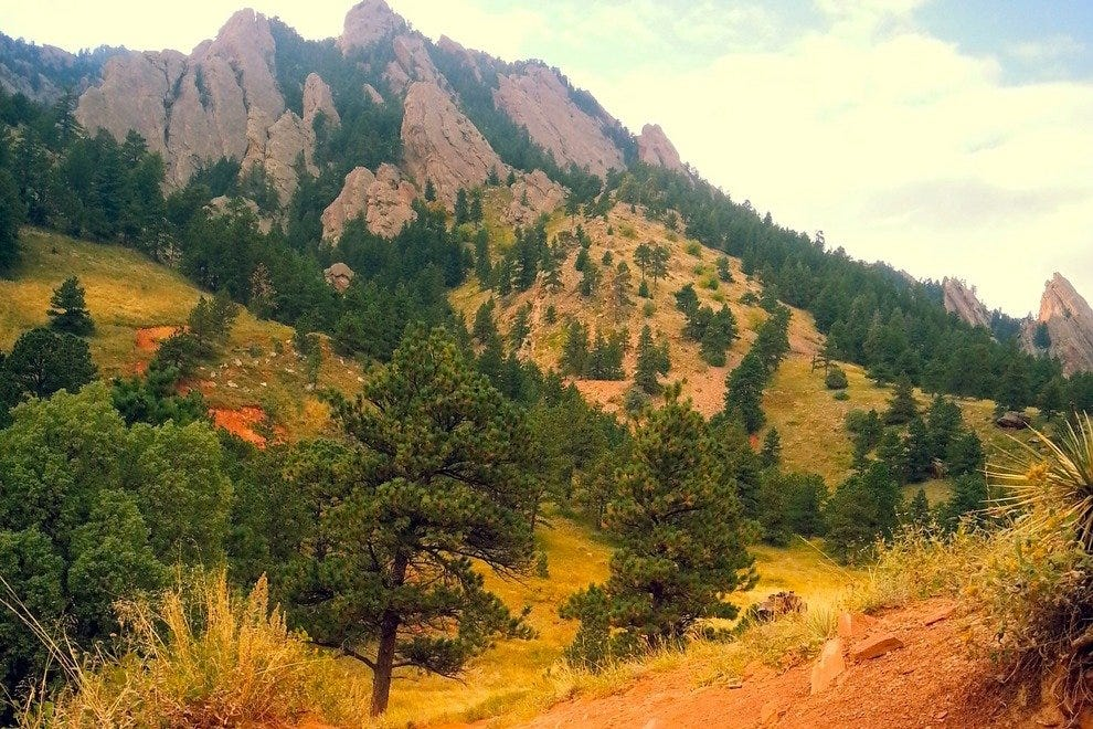 Fall near the Flatirons