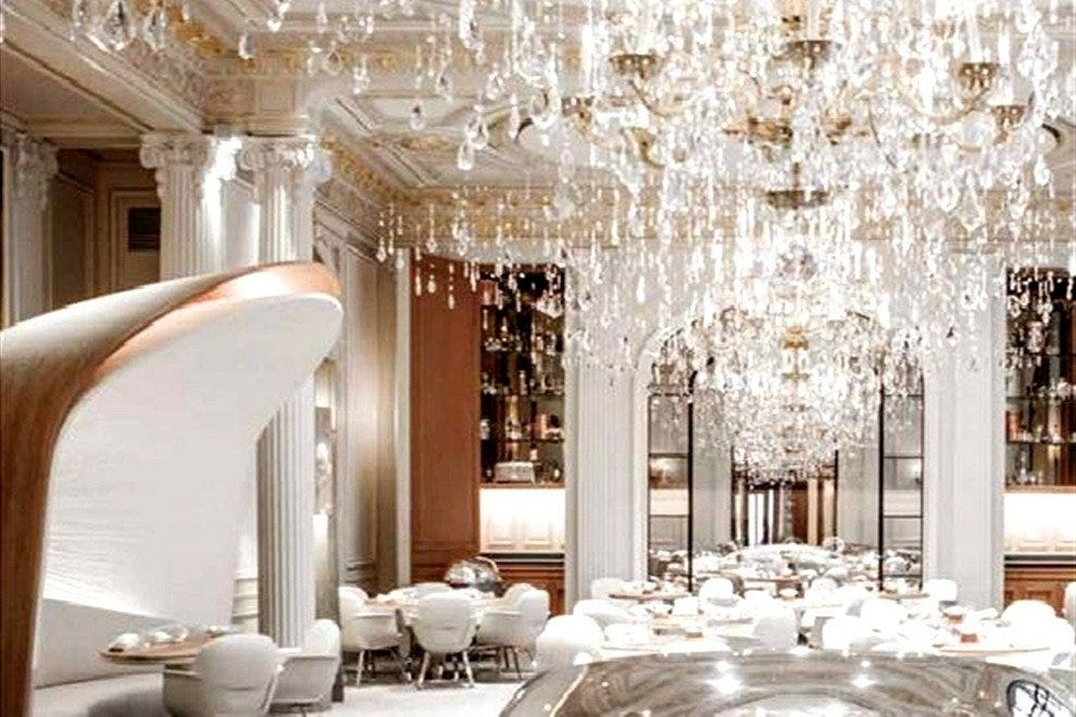 The new Paris restaurant Alain Ducasse au Plaza Athénée