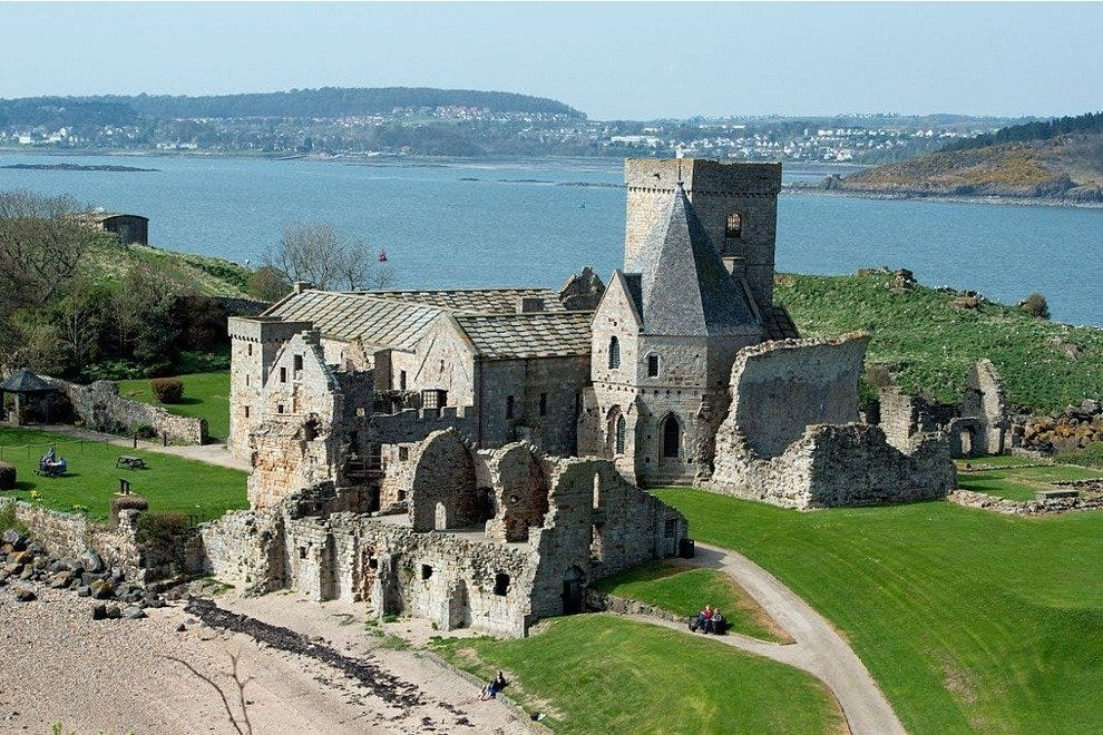 Inchcolm Abbey in Scotland