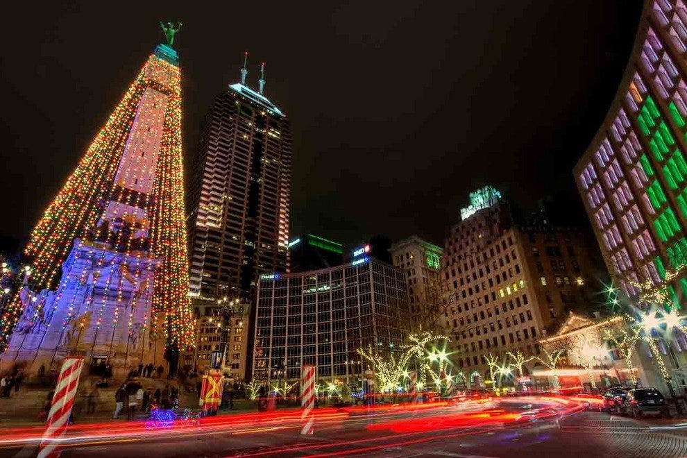 indianapolis lights up with traditions for the holiday season