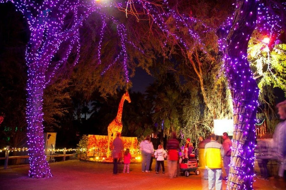 ZooLights at the Phoenix Zoo is one of the biggest annual holiday displays in the country
