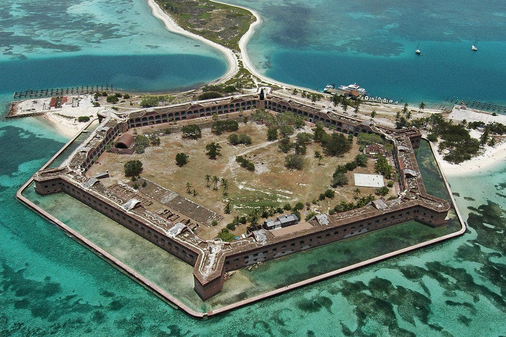 The Heavenly Waters Surrounding Fort Jefferson in the Dry Tortugas National Park
