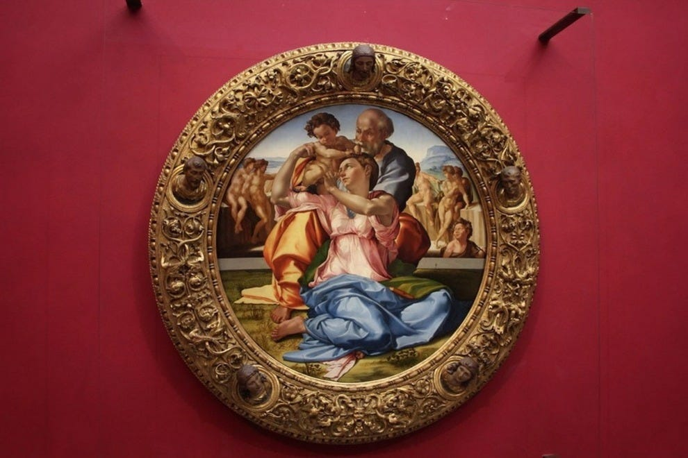 "Michelangelo's ""Tondo Doni"" is a highlight of the museum"