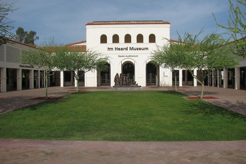 The Heard Museum in Phoenix showcases a great collection of historic and modern cultural contributions