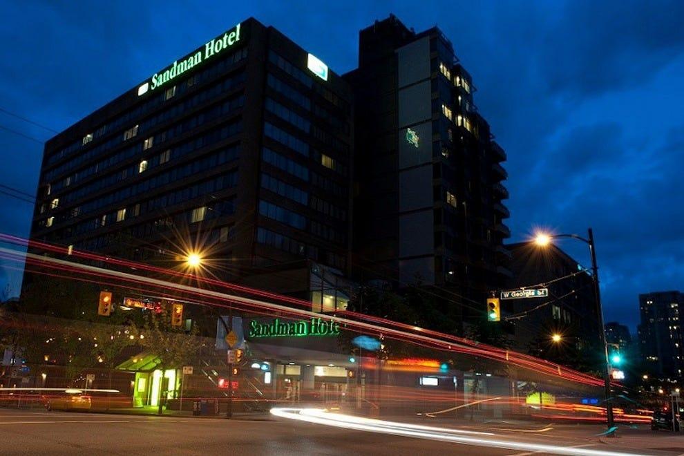 温哥华市中心桑德曼酒店