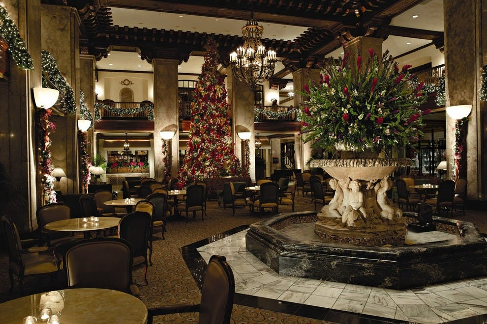 Tree Lighting at the Peabody Hotel