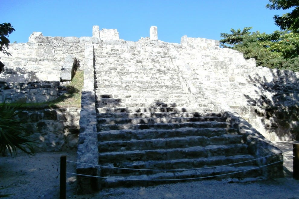Did you know there were Mayan ruins in Cancun's Hotel Zone?