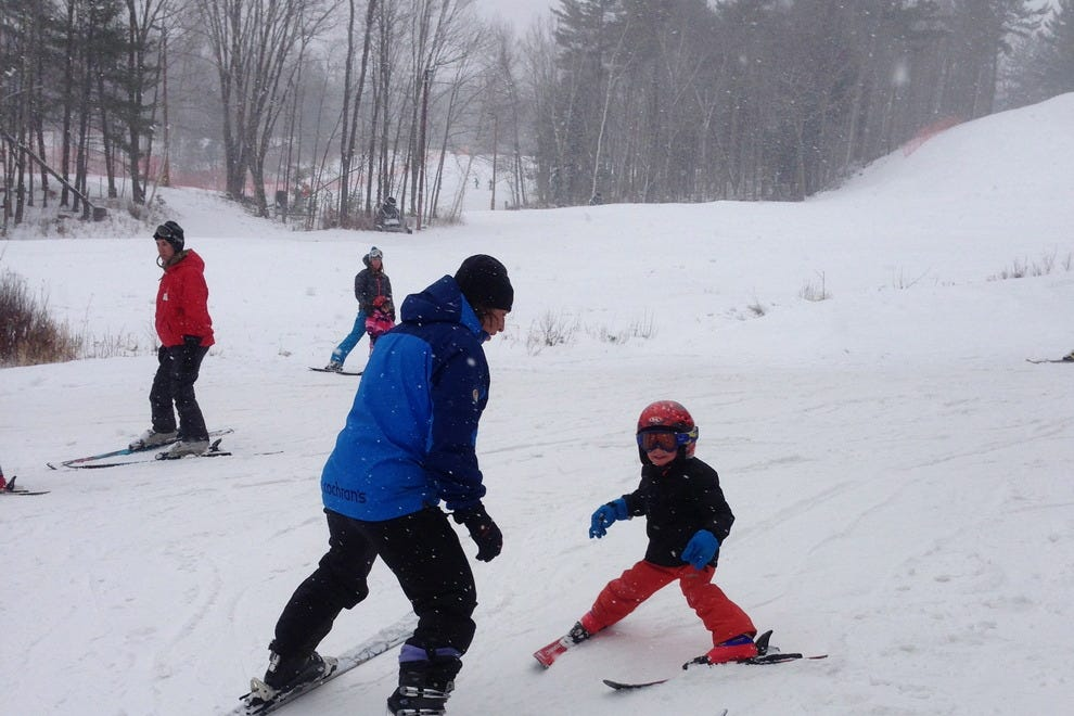 Little learners on the slopes