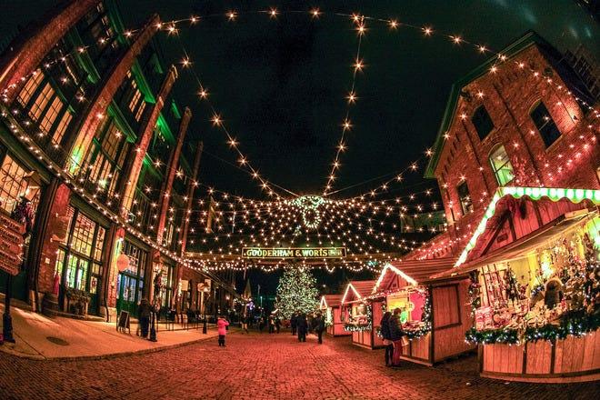 Christmas Shopping in Toronto