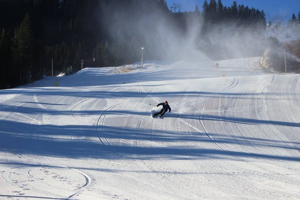 Cypress Mountain's 2014 opening day on the hills