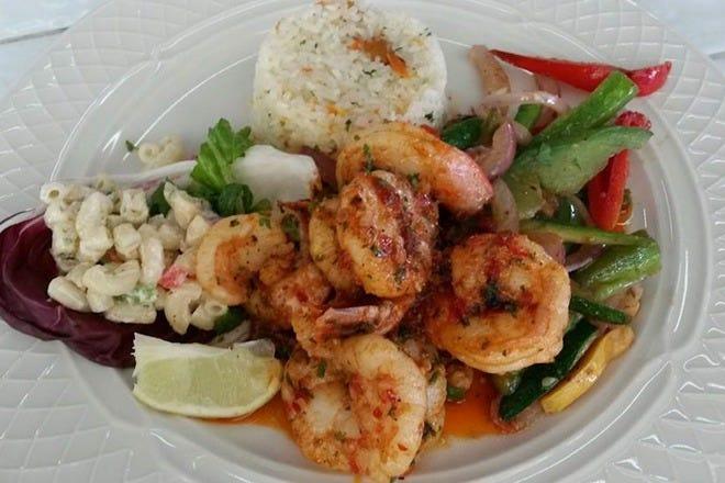 Lunch in Aruba