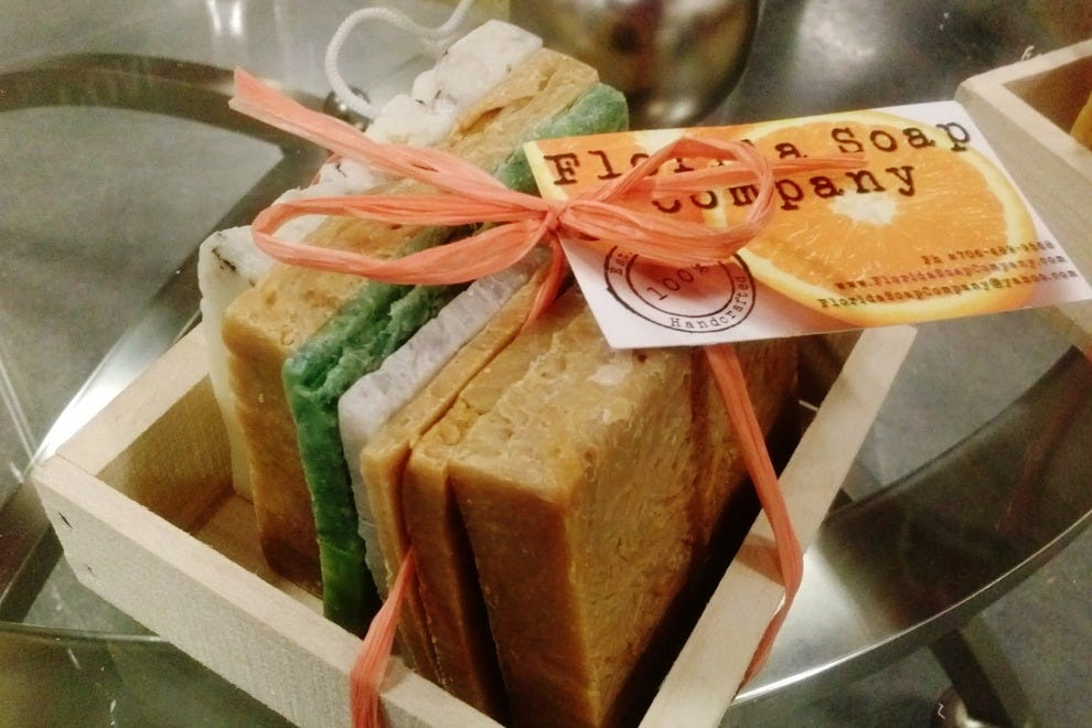 Florida Soap Company's wares are handcrafted, vegan and all-natural