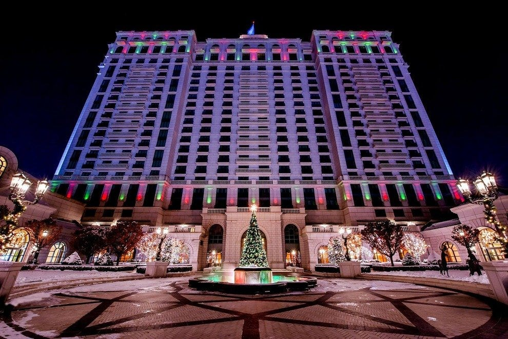 Christmas At The Grand America Hotel Salt Lake City