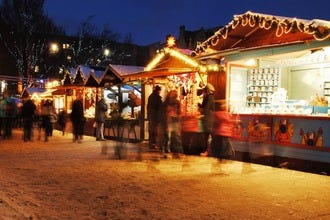 Wrap Up Warm for Christmas Shopping in Edinburgh's Winter Wonderland