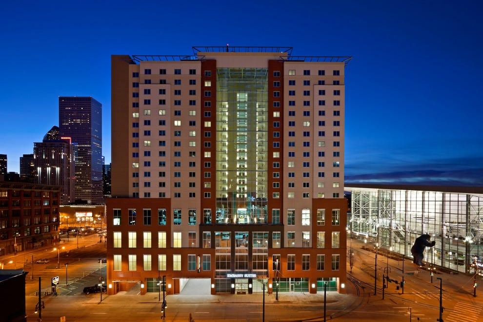 Embassy Suites Denver Downtown Convention Center Denver Hotels