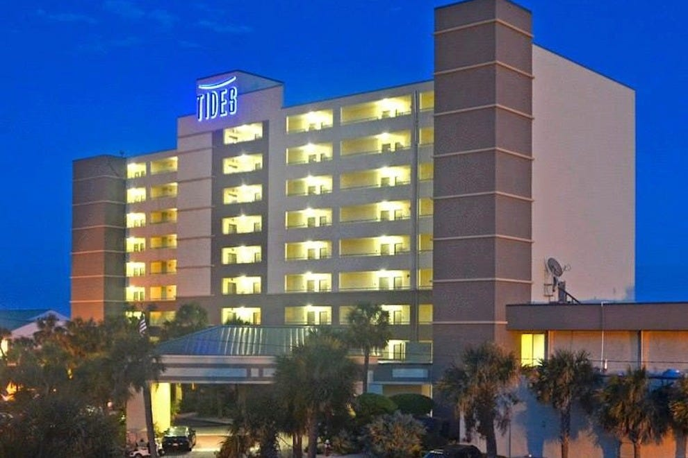 tides folly beach hotel charleston hotels review 10best. Black Bedroom Furniture Sets. Home Design Ideas