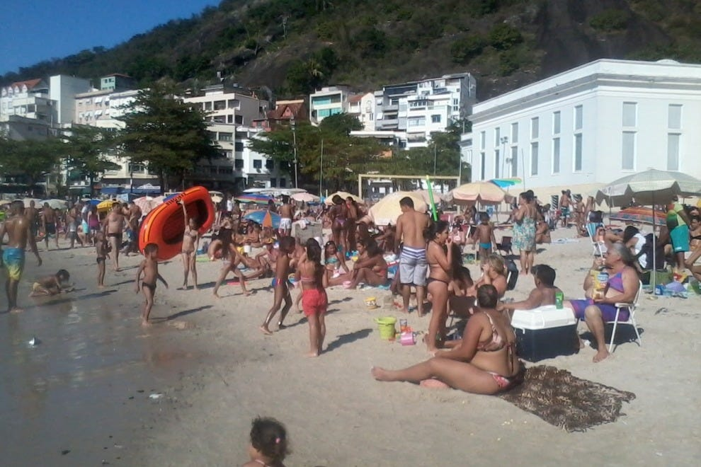 Rio's beaches are the city's social spaces