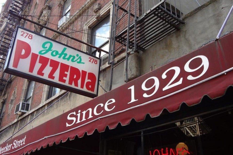 约翰的比萨店