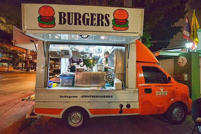 Food Trucks in Bangkok