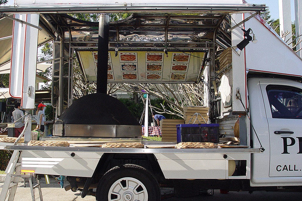 Photo Courtesy Of Photos By Willy Schranz Pizza AroyTM Thailands 1st Mobile Wood Fired Oven Bangkok Thailand