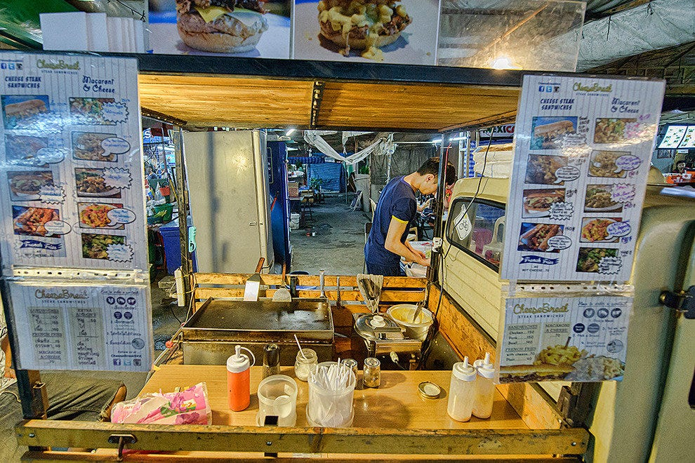 Cheesy delights, mac and cheese and plenty of comfort food on wheels at Cheesebreak BKK