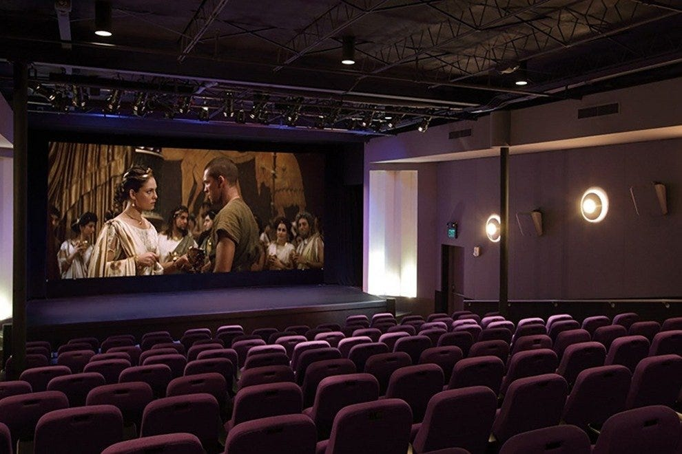 Tropic Cinema's small screening rooms provide an intimate viewing experience