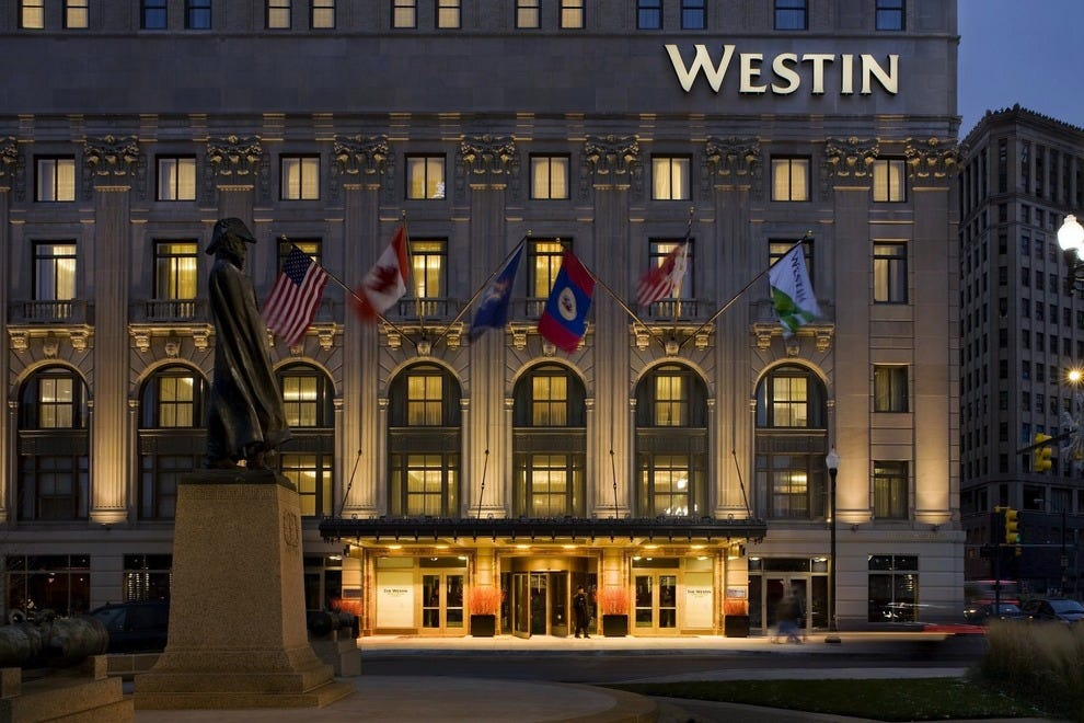 The Westin Book Cadillac Detroit Detroit UnitedStates