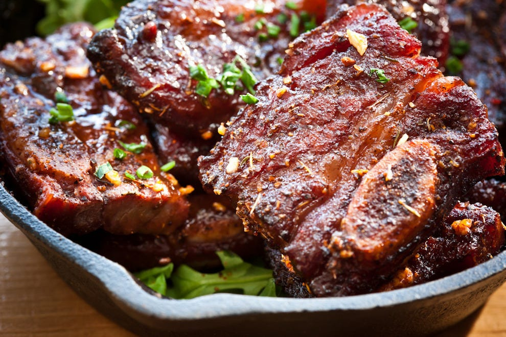 "Ribs that are all too happy to be called ""food porn"""