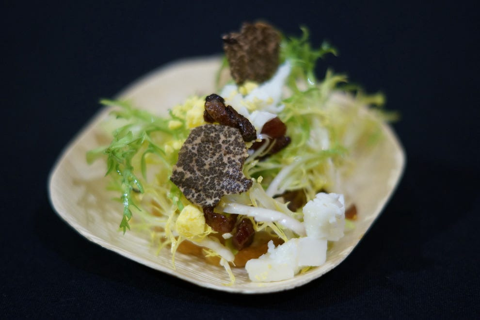 Attend a one-of-a-kind truffle dinner
