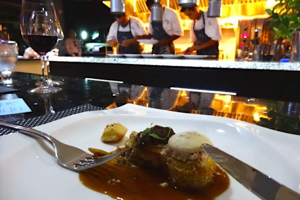 Keshi Yena à la nouvelle cuisine at The Kitchen Table