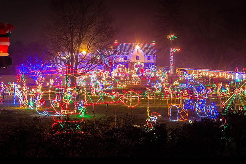 Christmas Light Show In Pa