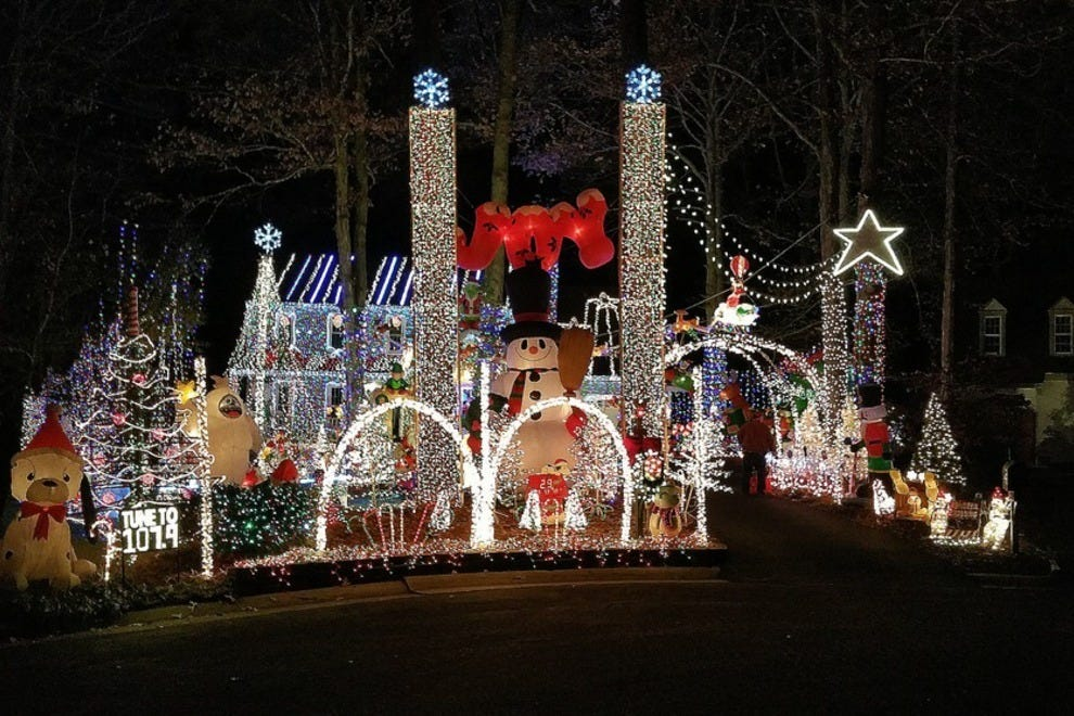 Best Private Lights Display Winners: 2014 10Best Readers' Choice ...