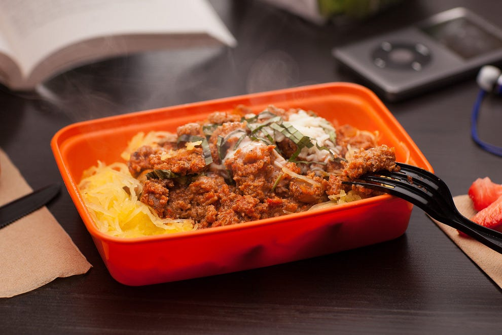 Zedric's serves healthy dishes like Turkey Ragu