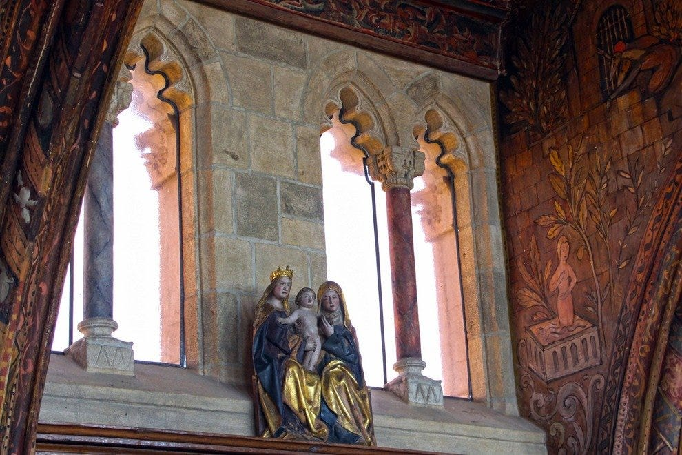 The Castle's Renaissance Theme: Madonna and Child
