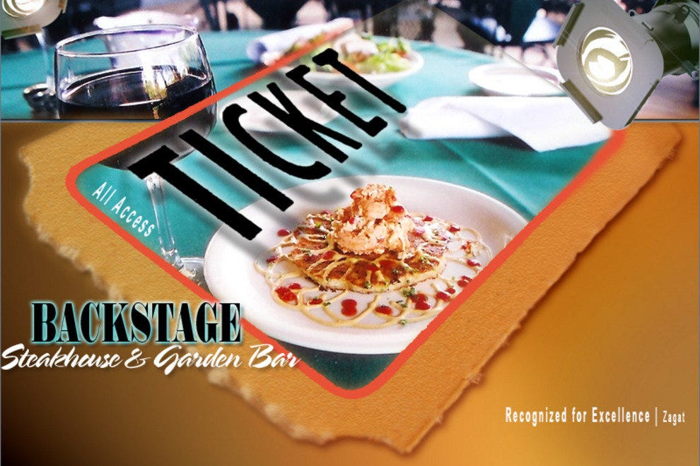 Backstage Steakhouse & Garden Bar