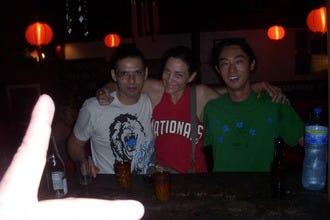 dj,别霍·德·利蒙港夜生活的迪斯科舞厅和潜水酒吧