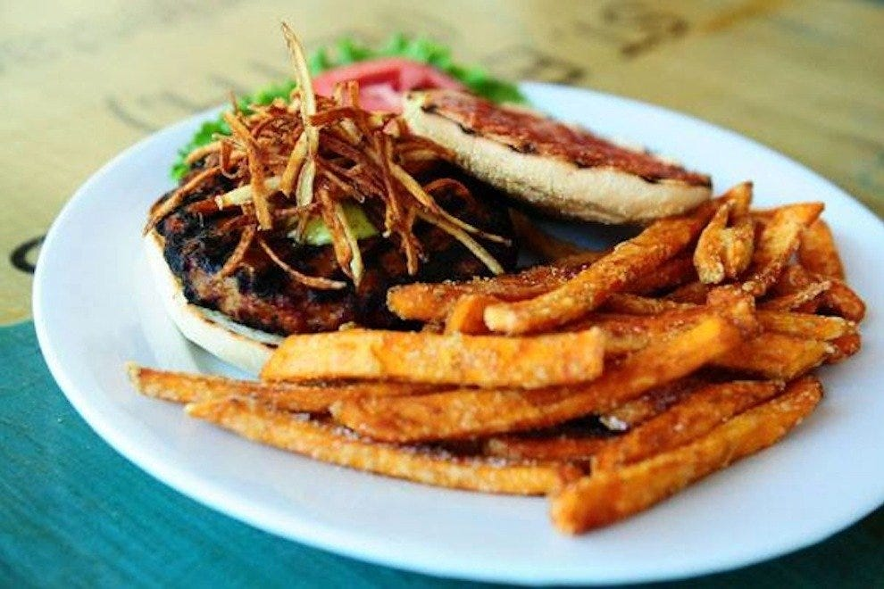 The Black Bean Burger at FUEL is unmissable, even for omnivores