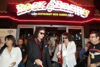 KISS Rock Stars Open Second Los Cabos Rock & Brews