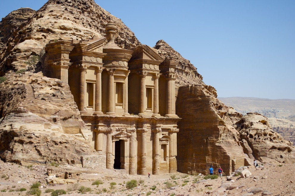 The Monastery, Ad-Deir, at the top of Petra